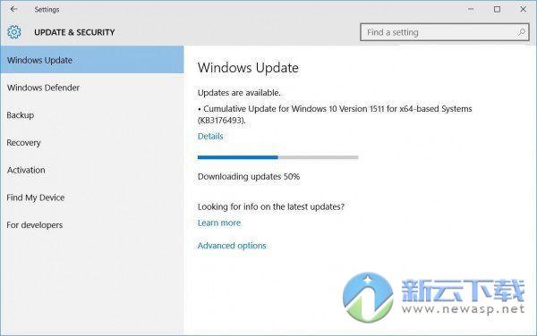 Windows10更新KB3176493出现无法安装问题解决方法